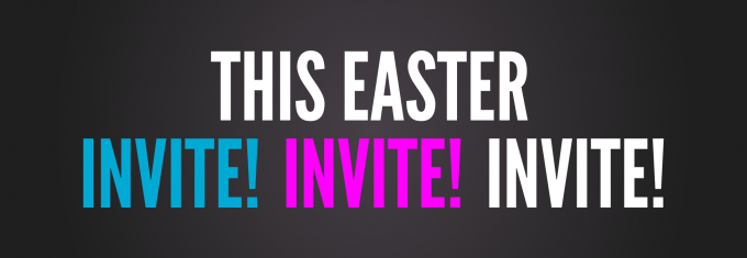 INVITE this EASTER   Hope Hill Church