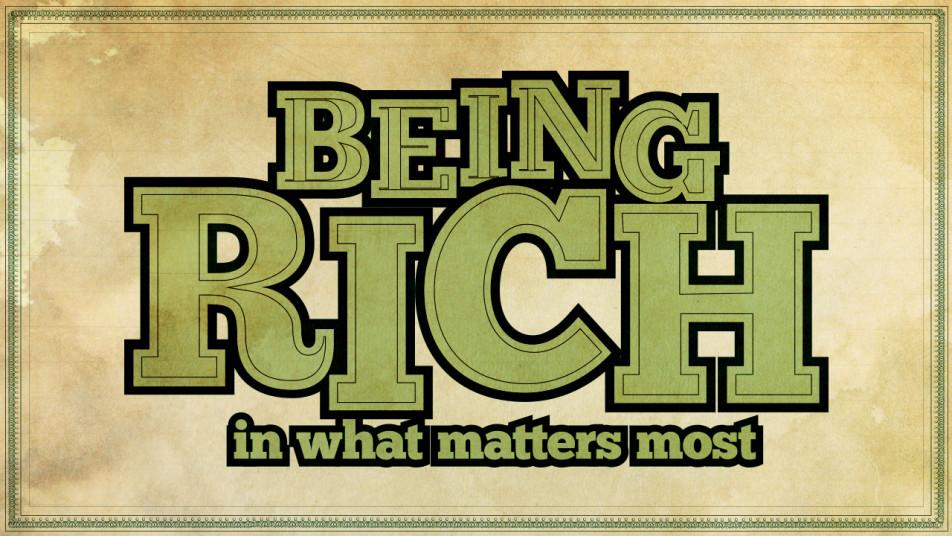 Being Rich