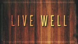 Live Well Week 2: Living Generously Image