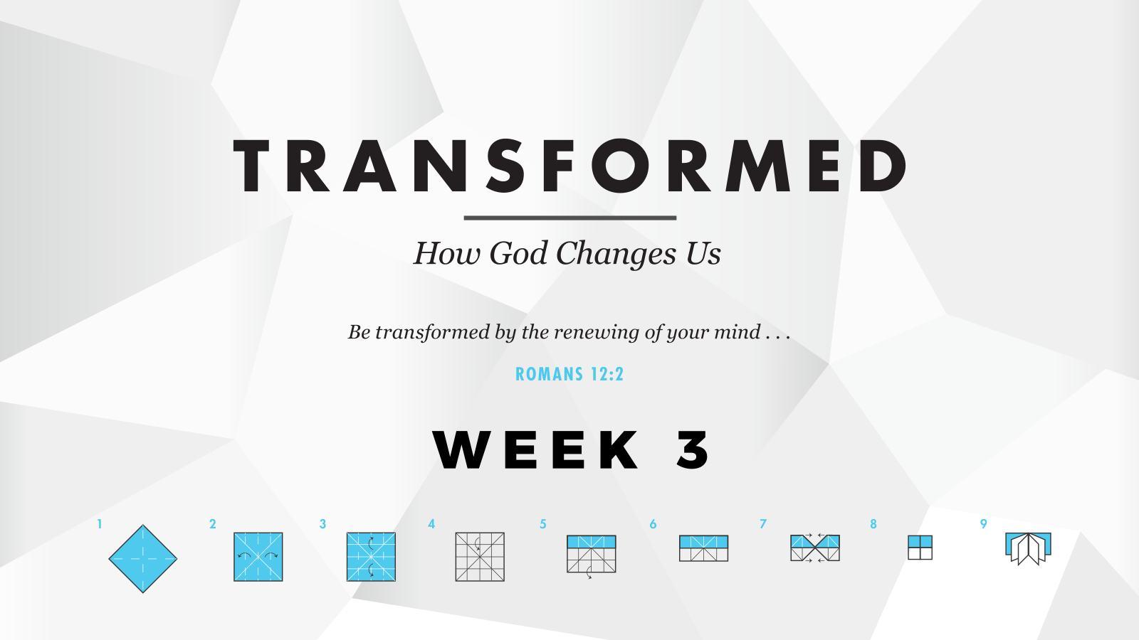 Transformed – Week 3