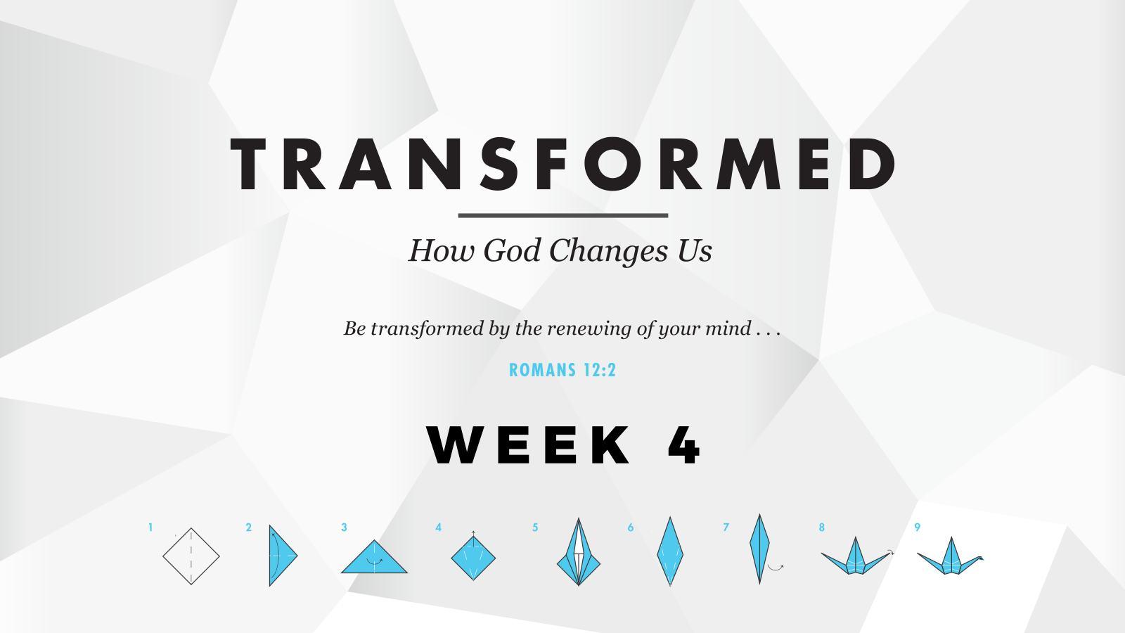 Transformed – Week 4