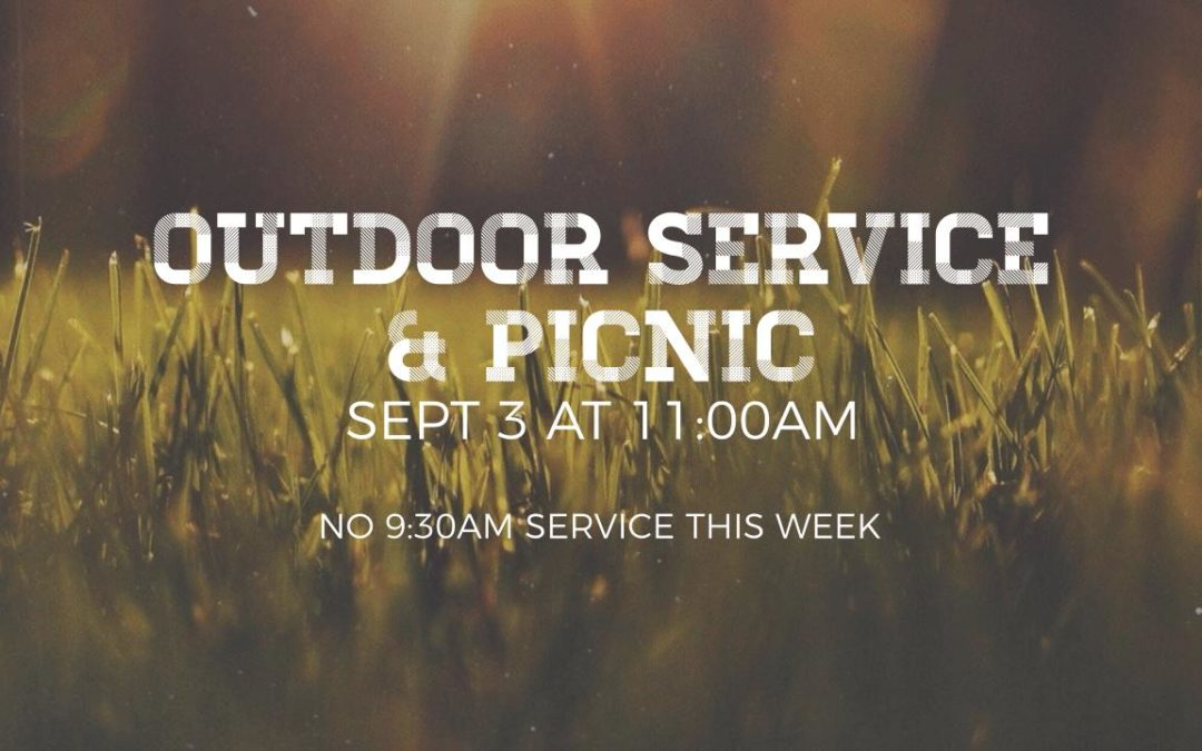 Outdoor Service & Picnic 2017