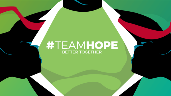 #TeamHope Week 1 Image