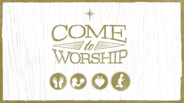 Come To Worship Week 1: Lift Your Hands to God Image